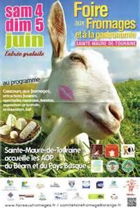 Médailles d'Or et d'Argent au Concours Inter Régional des fromages de chèvre 2017 pour la foire aux fromages de Sainte Maure de Touraine.